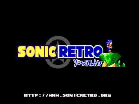 SonicRetro Logo Variations (Sonic 1 Omochao Edition Rom Hack)