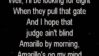 Amarillo By Morning - George Strait - Karaoke