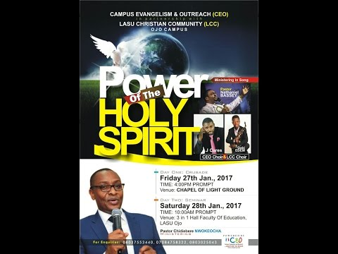 Campus Evangelism Outreach POWER OF THE HOLY SPIRIT
