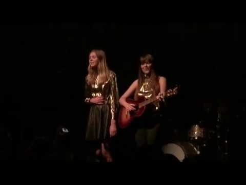 """Ghost Town""–First Aid Kit @ House of Blues, New Orleans.  November 6, 2014"