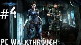 Resident Evil: Revelations - Walkthrough - PC (Max Settings) - Episode 2 - Part 2 - Double Mystery