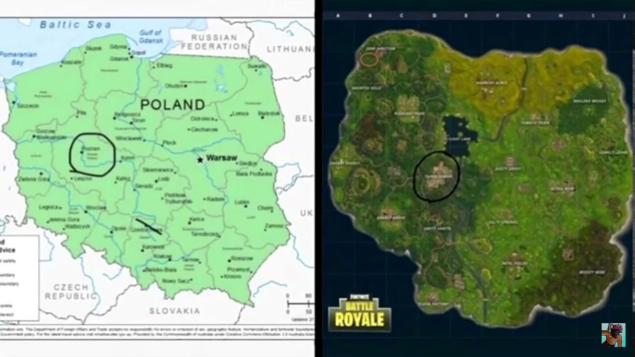 Fortnite Map Ist Polen