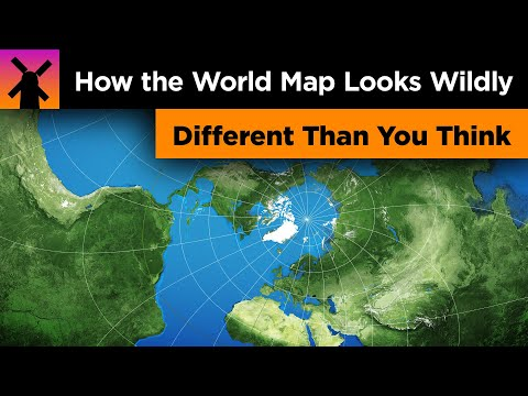 Thumbnail: How the World Map Looks Wildly Different Than You Think