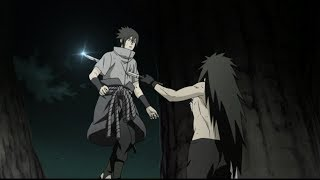 Sasuke and Naruto Death Scene - English Dub - Naruto Shippuden Ultimate Ninja Storm 4