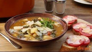 Vegetarian Recipes - How To Make Kale Soup