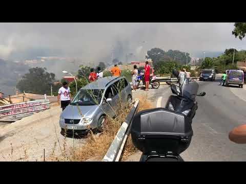 El fuego afecta a tres casas en Cabrerizas Bajas