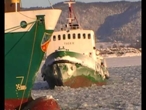 Thor III - icebreaker in Drammen Norway, isbryter Norge