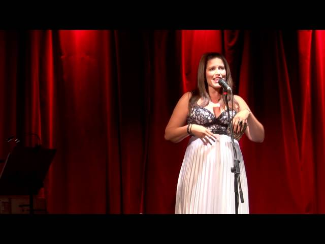 Noelle Hannibal Singing Oh Henry Bar by Kooman and Dimond at Barefoot Broadway
