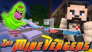 Minecraft MineVengers - VISITING THE GHOSTBUSTERS