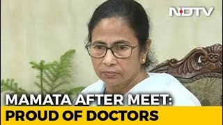 """Proud Of Our Doctors,"" Mamata Banerjee Says After Meeting"