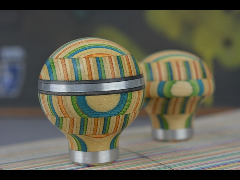 Making A Gear Knob from Skateboards