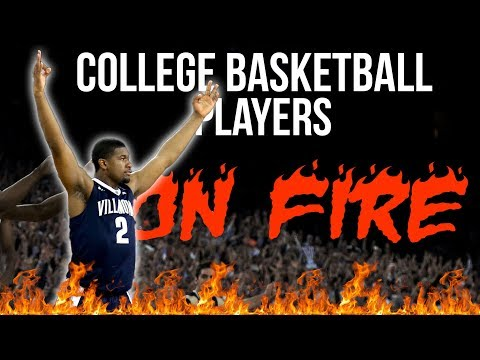 College Basketball Players On Fire