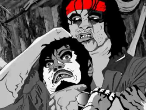 Animatic Animation Rambo 4 First Blood Video Game Trailer Animated Storyboard