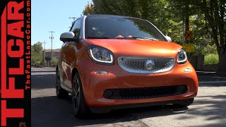 2016 Smart Fortwo First Drive Review: Much Improved. Good but not Great