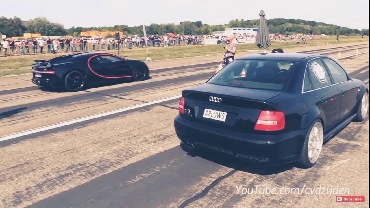 Download 1300HP Audi S4 B5 vs Bugatti Chiron