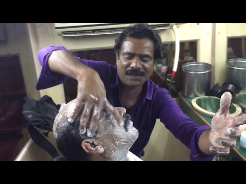 Baba Head Massage Indian Bald Man|Greatest Head Massage|Baba in Bombay|ASMR