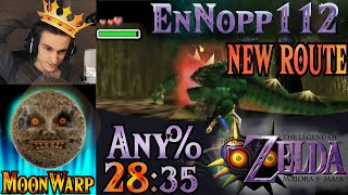 [World Record] Any% New MoonWarp 2 Route Speedrun (28:35.714) - Zelda: Majora's Mask