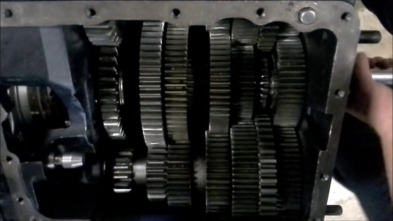 How an Eaton Fuller 10 speed transmission works