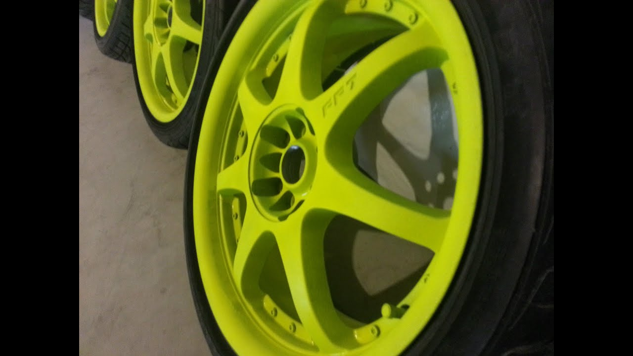blaze yellow plasti dip walkthrough youtube