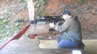 Bushmaster 50 BMG First shot