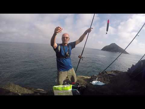 Shore Fishing In Cornwall- August 2019