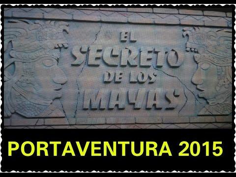 Port Aventura 2015| El Secreto De Los Mayas | Секрет Народа Майя|HelenLin1