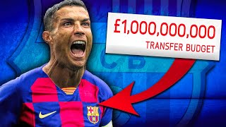 £1,000,000,000 Barcelona Takeover Challenge! FIFA 20 Career Mode