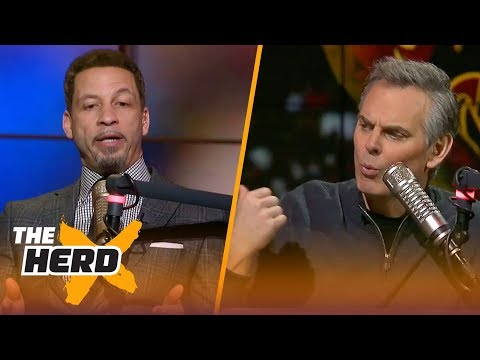 Chris Broussard on Isaiah Thomas after his Los Angeles Lakers debut | THE HERD