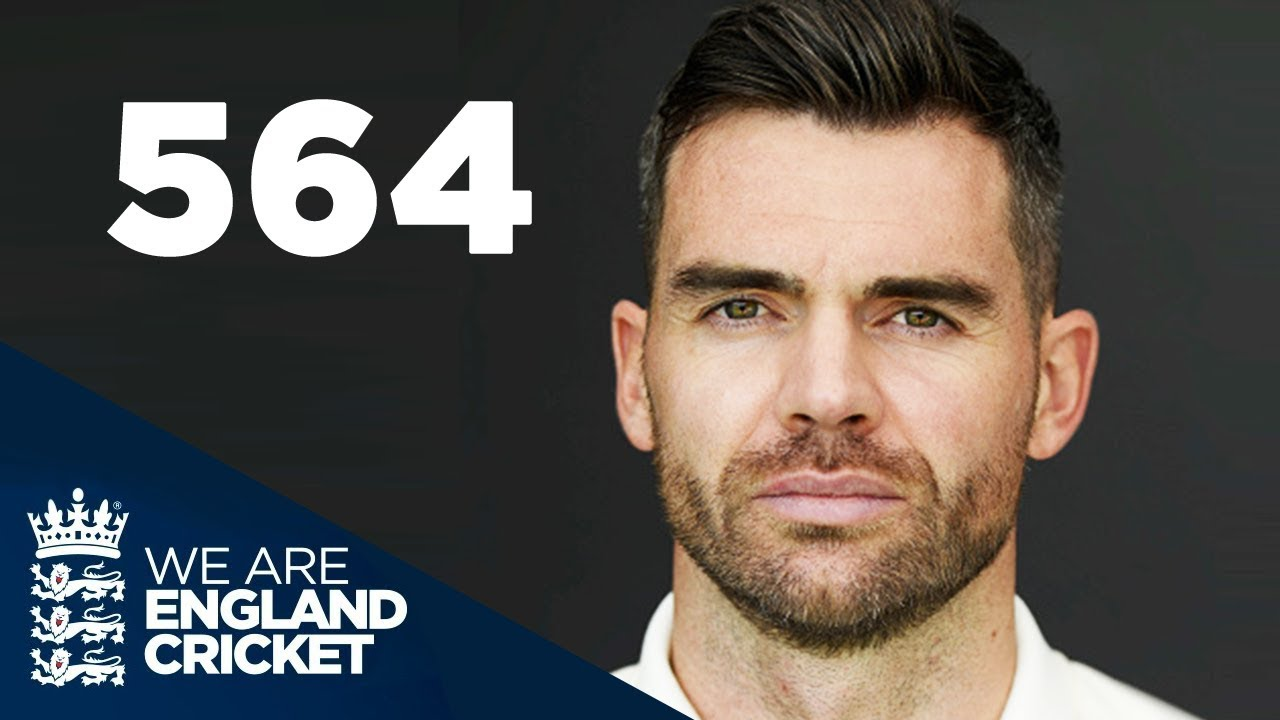 Record Breaker   Jimmy Anderson's Road To 564 Test Wickets