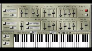 YUNO 2 SYNTH by MIK OF DENMARK 2003 /  GTG SYNTHS