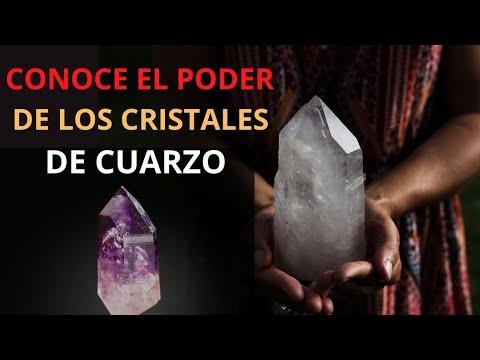 El poder de los cristales de Cuarzo ( PIEDRAS DE CUARZO Y SUS BENEFICIOS )