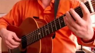 River Flows In You   саундтрек  сумерки видео урок, гитара