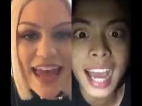 Flashlight Jessie J Featuring John Abelardo Funny Video in App Smule Sing Karaoke