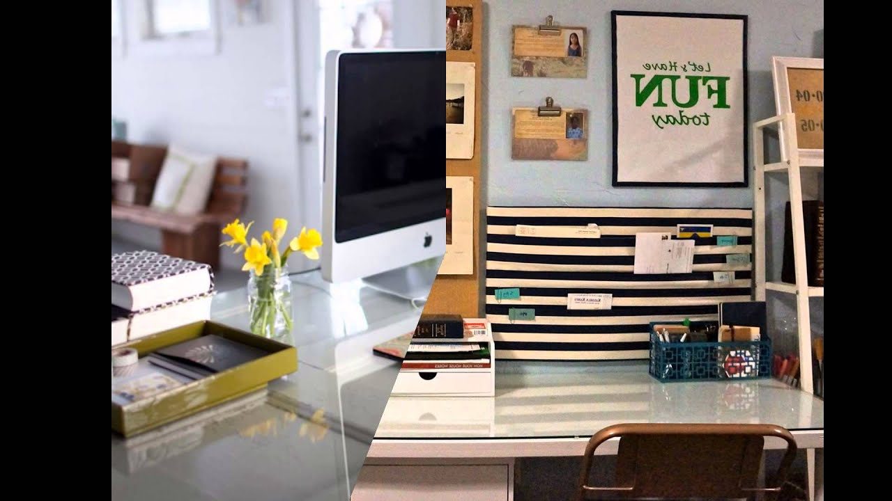 home office wall organization systems - YouTube