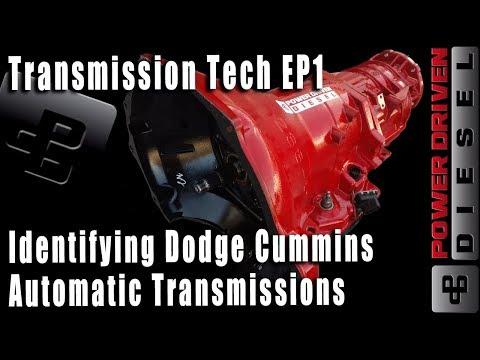 Identifying Dodge Cummins Automatic Transmissions | Power Driven Diesel