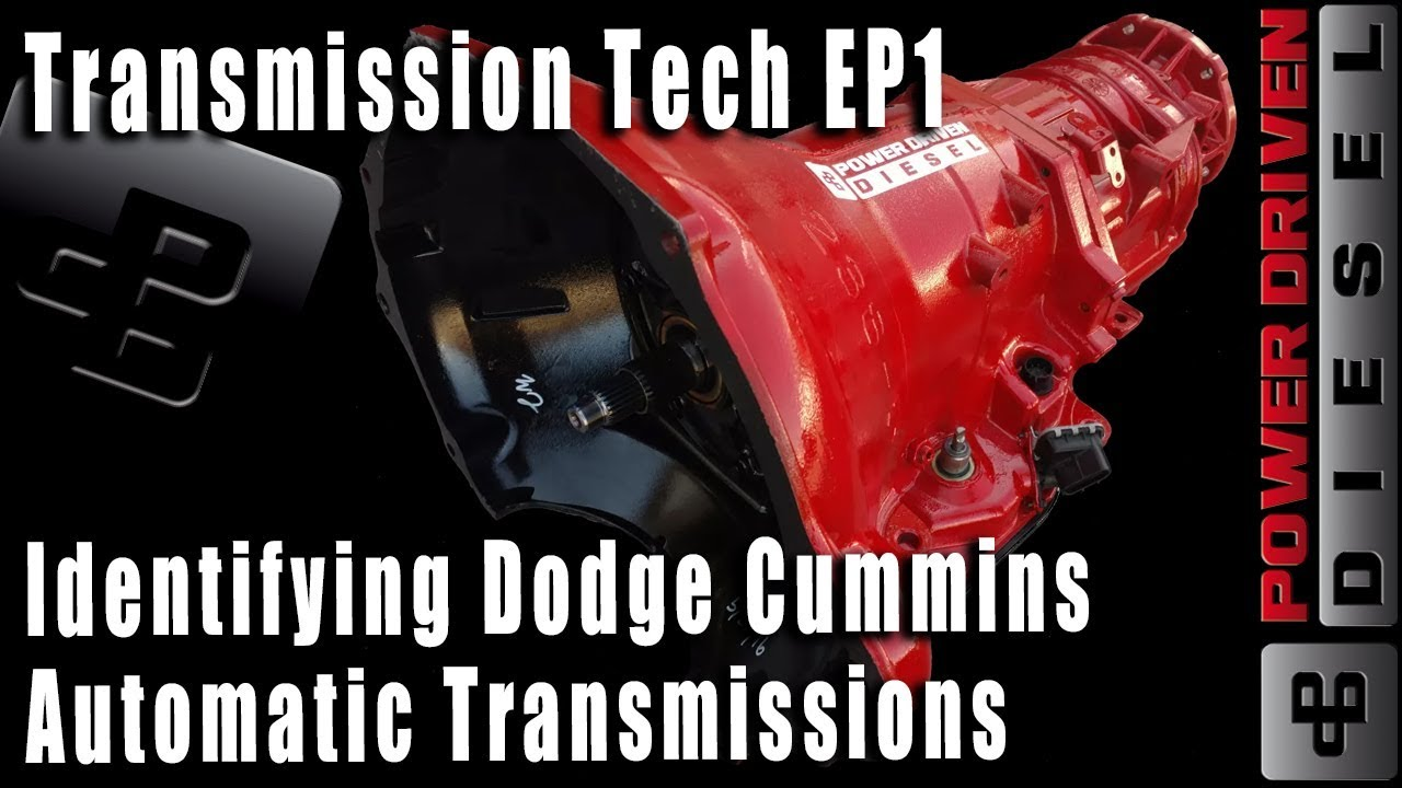 medium resolution of identifying dodge cummins automatic transmissions power driven diesel