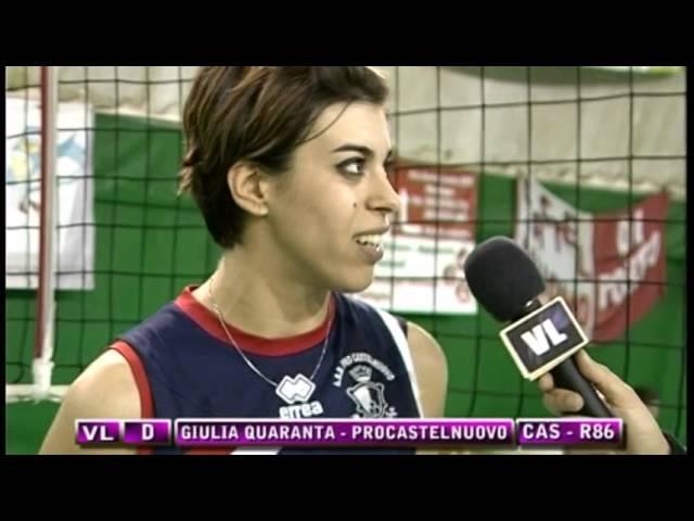 Interviste Castelnuovo vs Roma 86