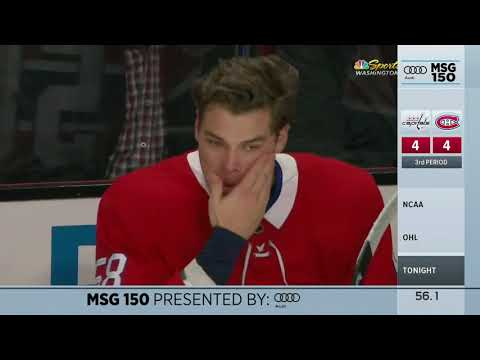 MSG 150: Noah Juulsen Takes A Puck To The Face... Twice