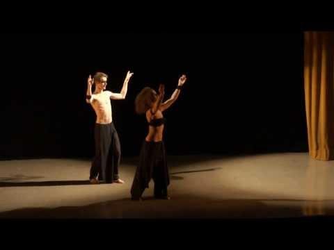 """Sankofa, duo de danse Tribal fusion, festival """" Visages d'Orient"""" 2013"""