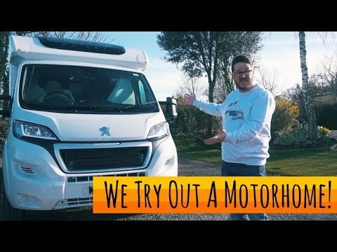We Try Out A Motorhome! - Bailey Advance
