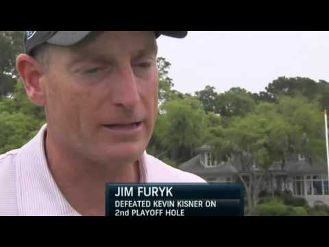 (1080p) Jim Furyk wins 2015 RBC Heritage in a sudden death play off