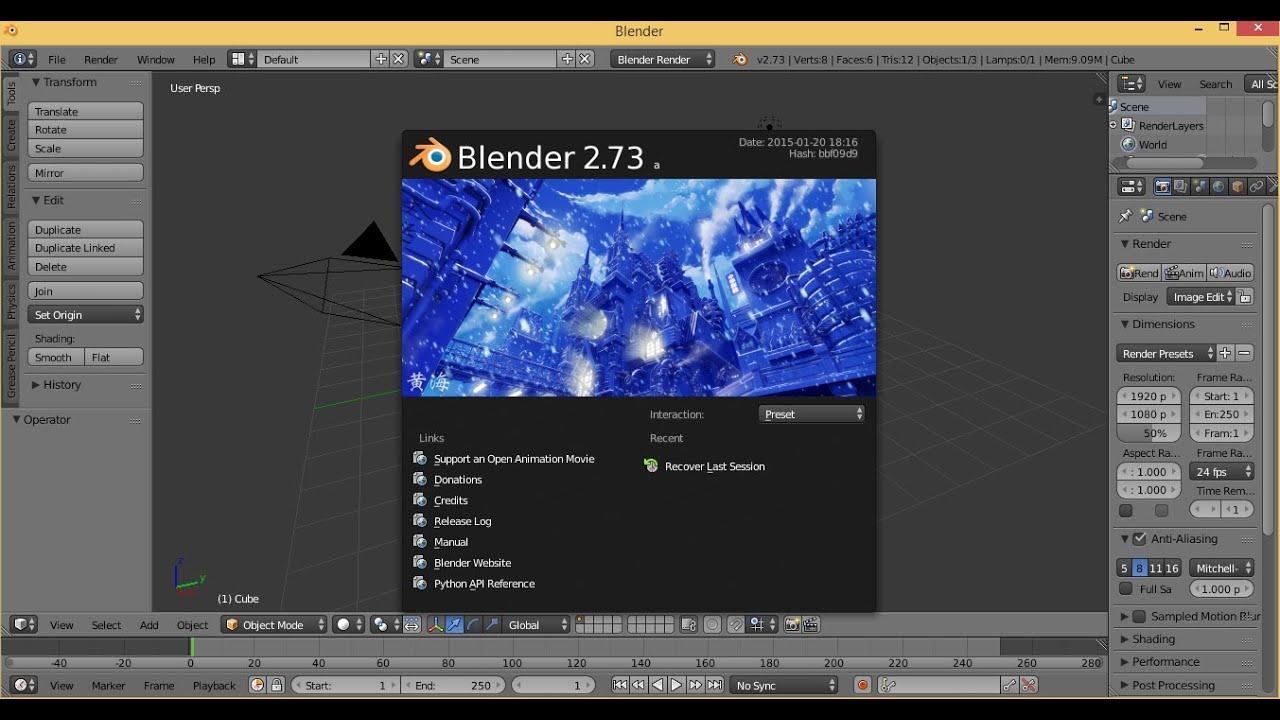 download blender 32 bit for pc