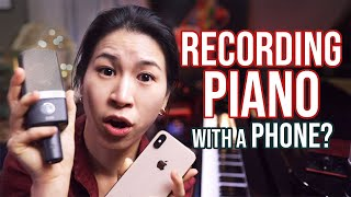 How to Record Piano with Phone or Other Microphones