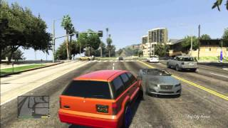 Gta 5 Terror Beach With Crazy Chop Dog Attack People