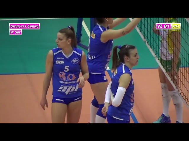 Orvieto vs S  Giustino - 4° Set
