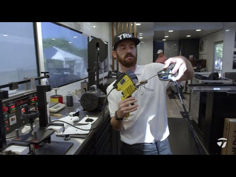Building Dustin Johnson's SIM Driver on the Tour Truck | TaylorMade Golf