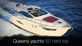 Queens yachts 50 hard top | Barca a motore usata del cantiere Queens Yachts. Mega Yacht