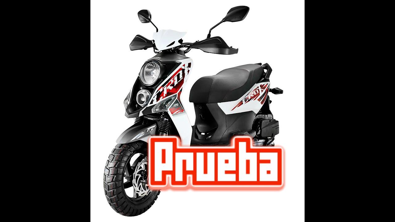 b278a806a2ddda Sym crox 150r Test Ride Review - YouTube
