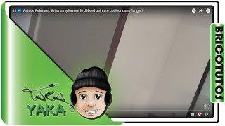 #bricolage : éviter simplement le débord peinture couleur dans l