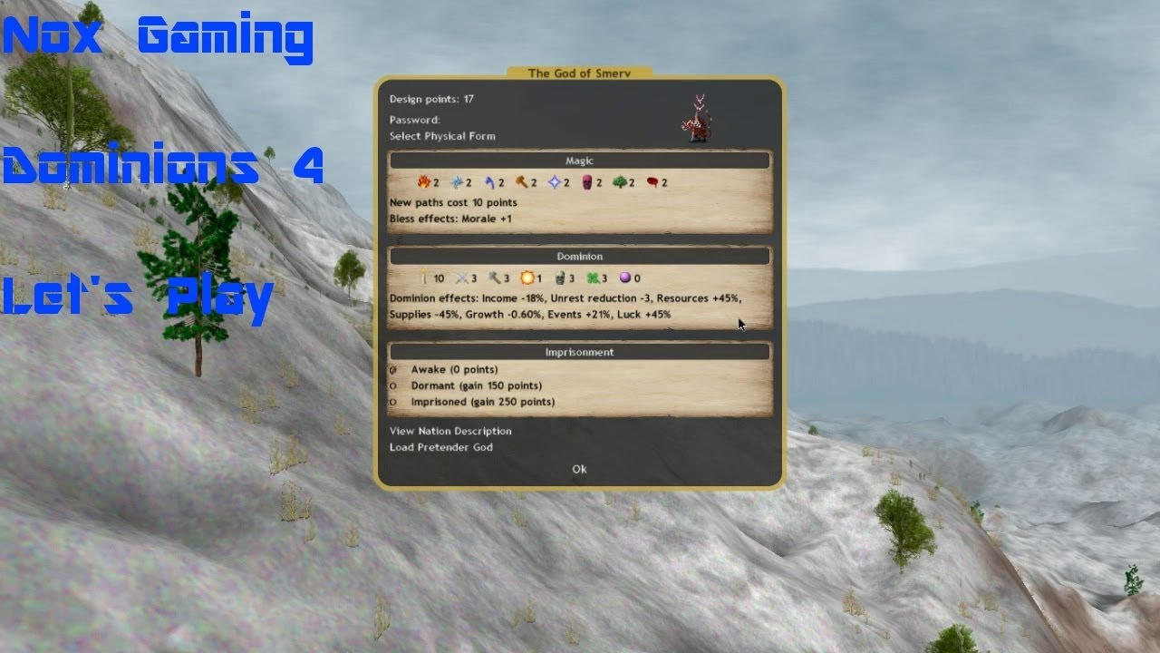 how to play dominions 4